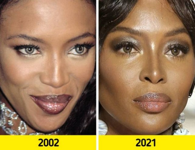 Top Models: In Their Prime And Now (17 pics)