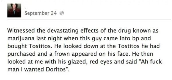People Share Stories When They Were High (25 pics)