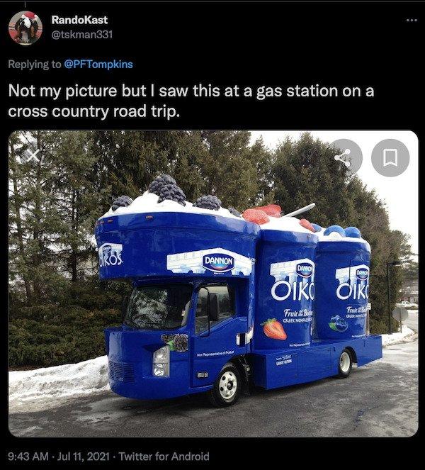 Food-Shaped Transport (35 pics)