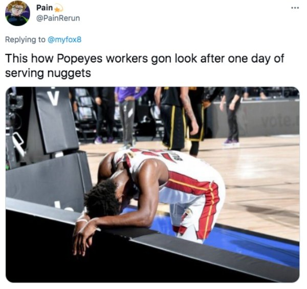 Popeyes Nuggets Memes (20 pics)
