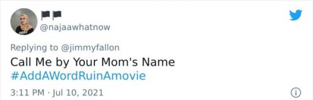 People Ruin A Movie With One Word (31 pics)