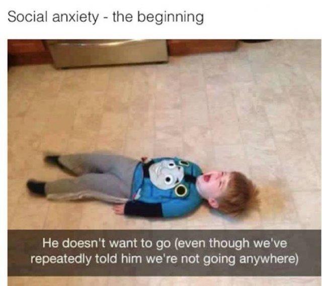 Anxiety Memes (30 pics)