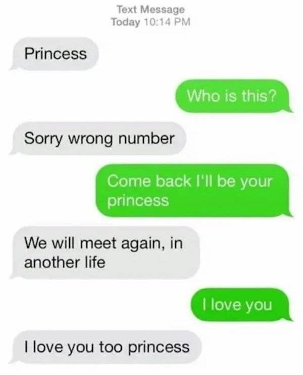 Wrong Number Messages (18 pics)