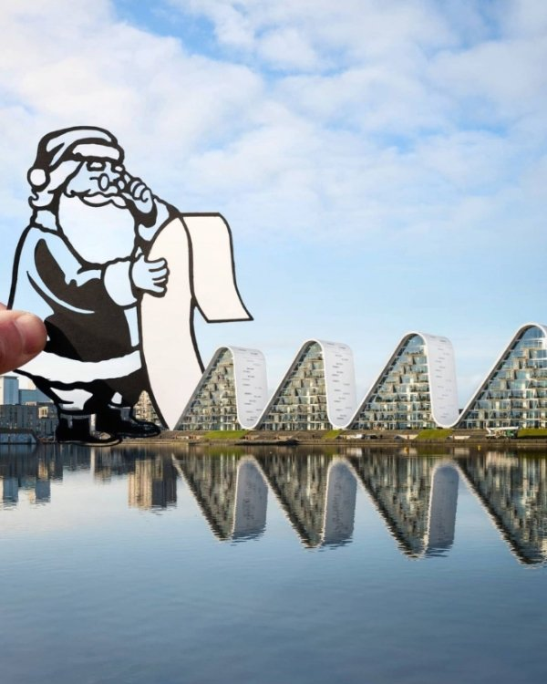 These Paper Cutouts Can Change Any Place (21 pics)