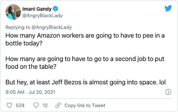 Jeff Bezos Went To Space Tweets (21 pics)