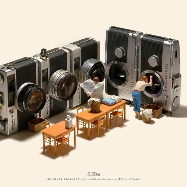 Stunning Miniatures By Tatsuya Tanaka (43 pics)