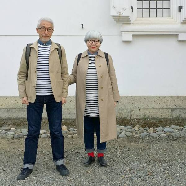 Lovely Couple From Japan Who Loves Wearing Matching Outfits (30 pics)