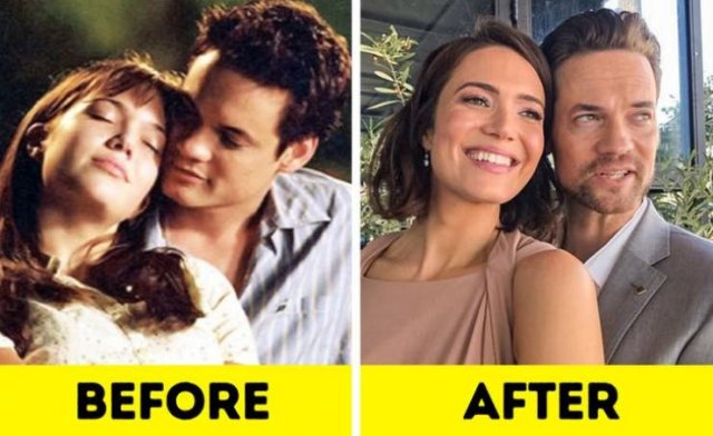 Famous On-Screen Couples: Then And Now (12 pics)