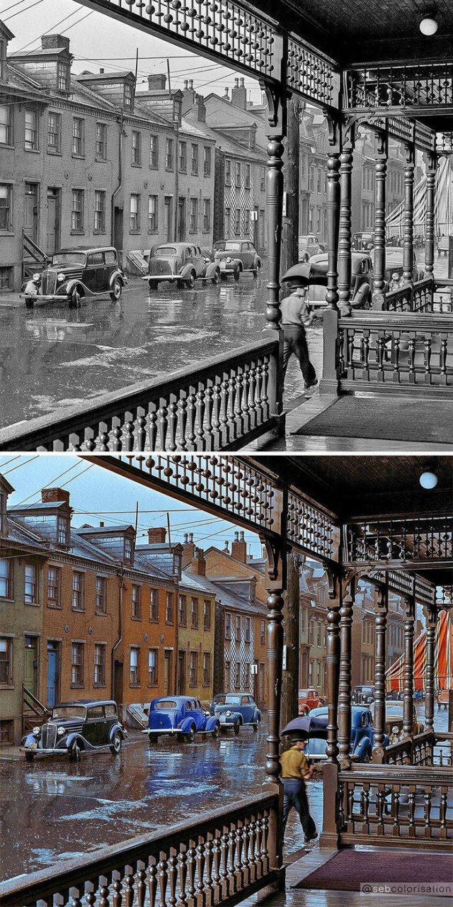 Colorized Old Photos (27 pics)