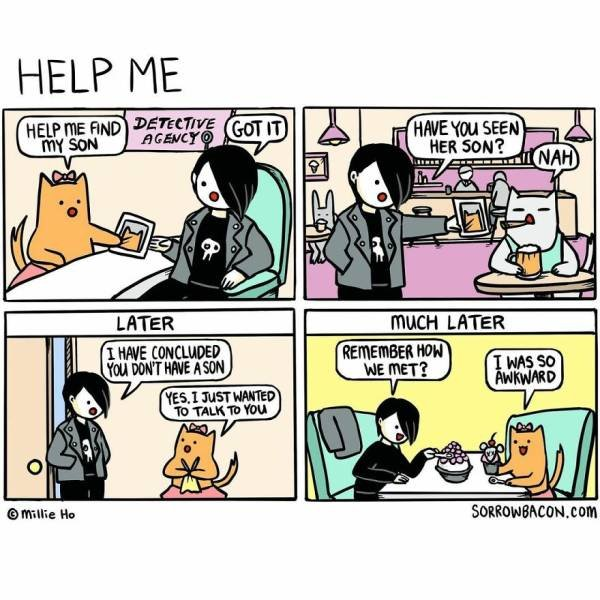Funny Comics By Sorrowbacon (30 pics)