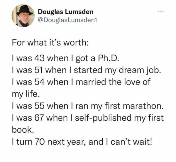 It's Never Too Late To Follow Your Dream (21 pics)