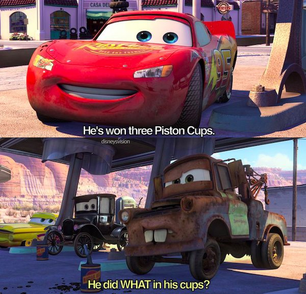 Dirty Humor In Kids Movies (23 pics)