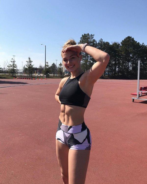 Canadian Olympian Athlete Georgia Ellenwood (34 pics)