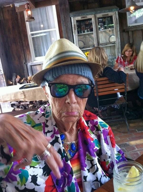 Amazing Grandmas And Grandpas (31 pics)