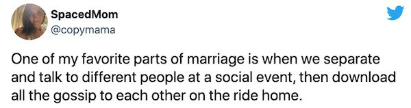 Married Life Tweets (29 pics)