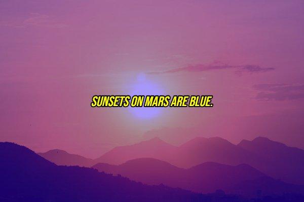 Mars Facts (17 pics)