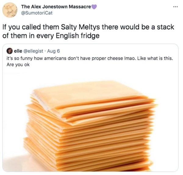 Americans And Brits: Cheese Debate (21 pics)