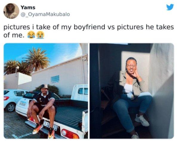 How Men And Women Take Photos (28 pics)