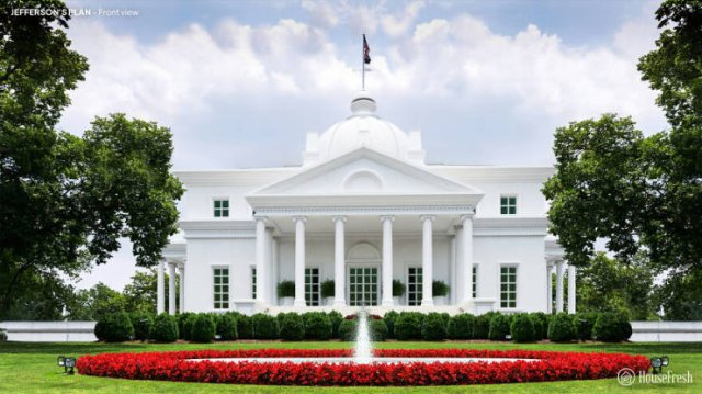 Rejected White House Design Plans (12 pics)