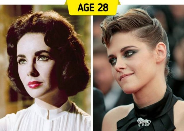 Same Age Celebrities (14 pics)