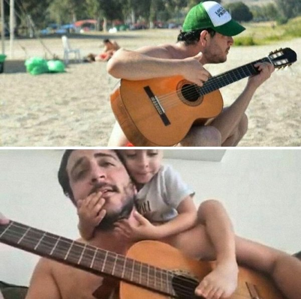Before And After Kids Photos (29 pics)