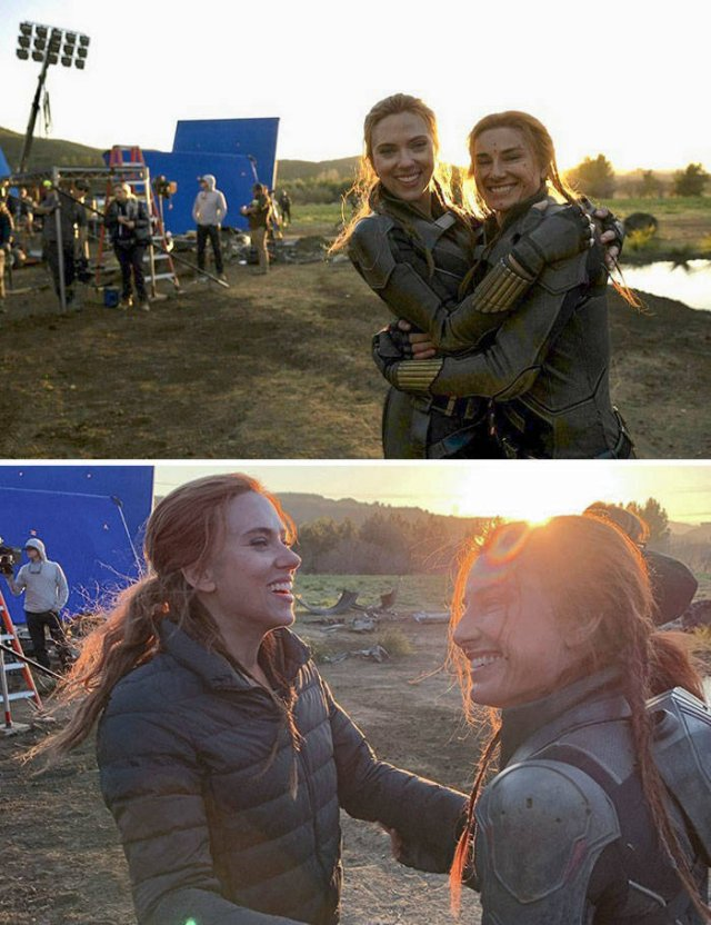 Actors Stunt Doubles Who Also Their Doppelgangers (37 pics)