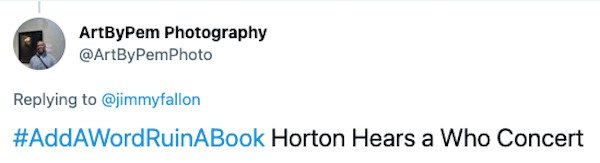 Add A Word To Ruin To A Book Tweets (25 pics)