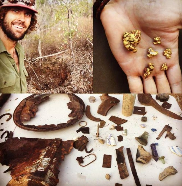 This Australian Guy Can Find Underwater Treasures Anywhere In The World (24 pics)