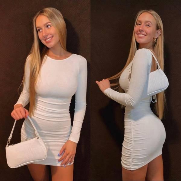 Girls In White (29 pics)