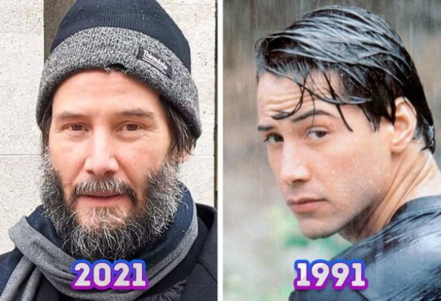 Celebrities At The Beginning Of Their Careers And Now (18 pics)