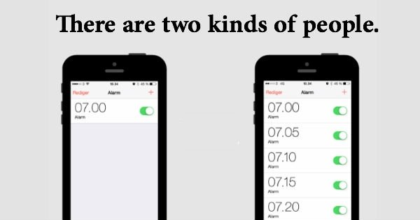 Two Types Of People (25 pics)