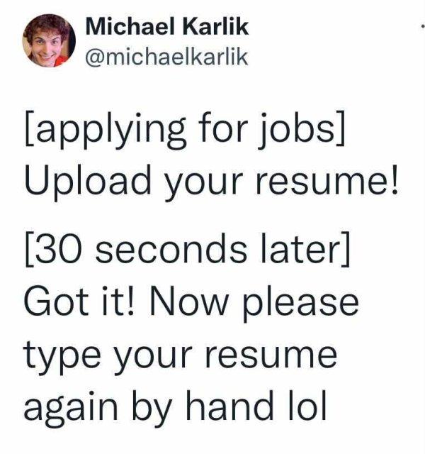 Job Hunting Memes (22 pics)