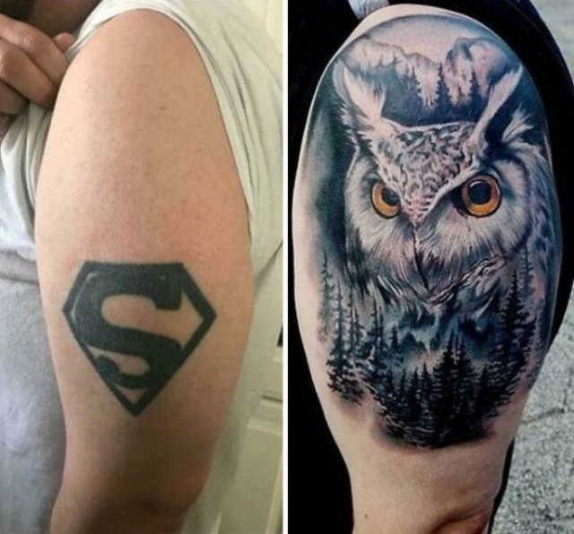 When Bad Tattoos Get New Life (33 pics)