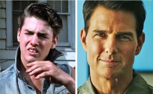 Actors In Their First And Latest Role (20 pics)