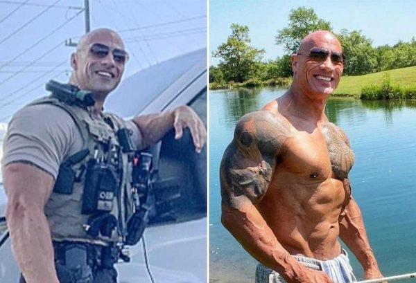 Dwayne The Rock Johnson's Doppelganger (12 pics)