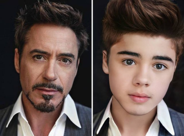 Celebrity Child Versions By AI (20 pics)