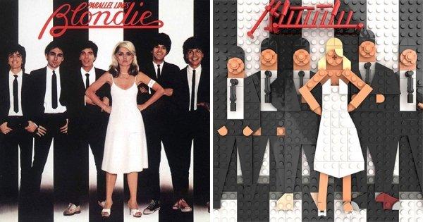 Lego Recreations Of Iconic Album Covers (36 pics)