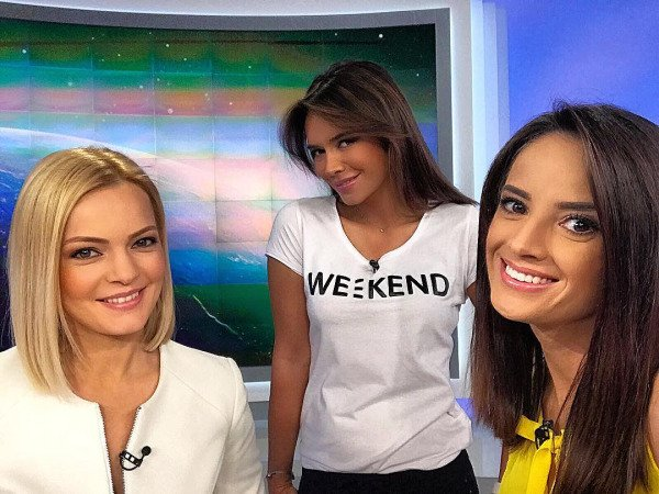 Weather Girl From Romania (47 pics)