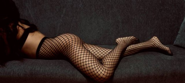 Girls In Lace And Fishnet (51 pics)