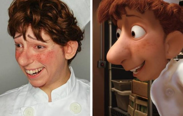 People Who Look Like Famous Characters (16 pics)