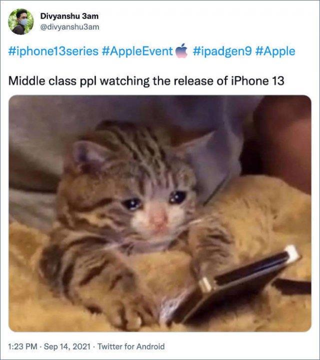 'iPhone 13' Memes (37 pics)