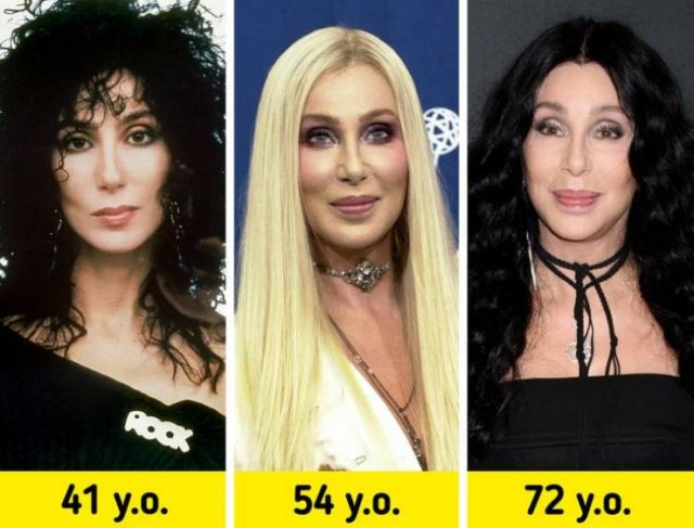 Celebrity Style Changes Throughout The Years (17 pics)