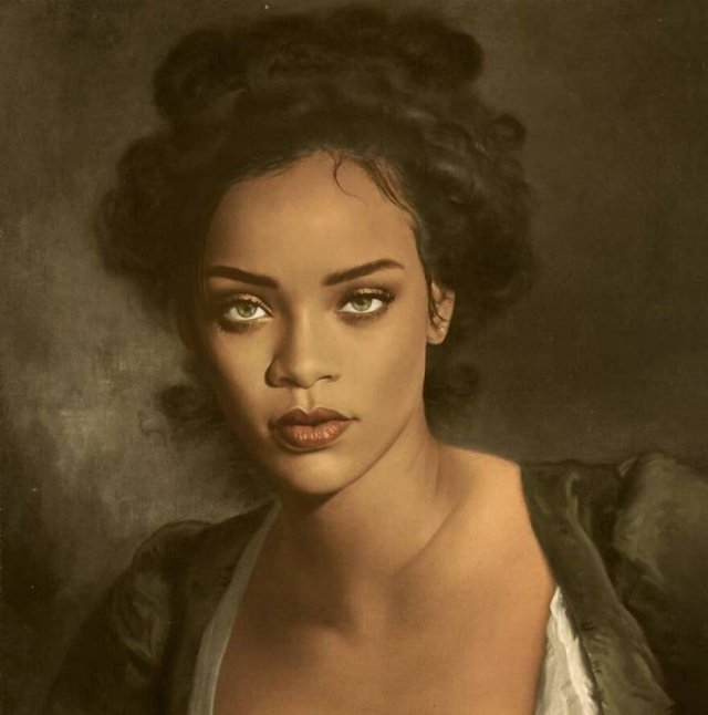 Modern Celebrities Were Placed Into Classical Paintings (30 pics)