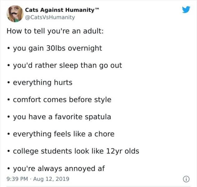 Adulthood Tweets (50 pics)