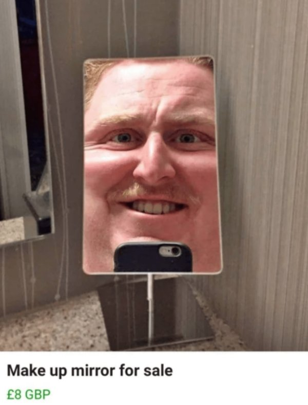 People Weird Tries To Sell Mirrors (30 pics)