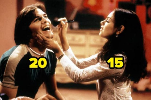 Age Gaps Between Actors And Actresses Who Played Couples (47 pics)