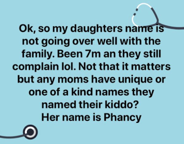 Weird And Funny Kids Names (23 pics)