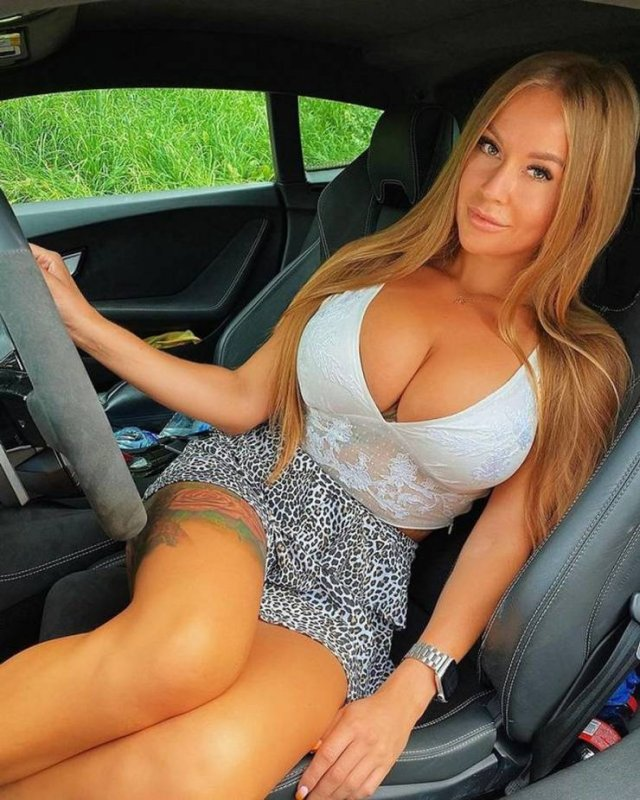 Hot Car Selfies (46 pics)