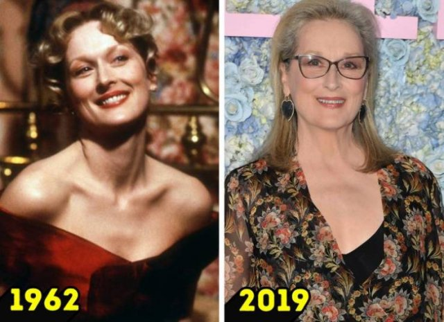 Iconic Actors: In Their Prime And Now (16 pics)