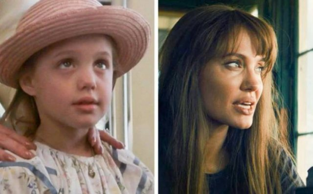 Famous Actors: Their First And Current Movie Role (15 pics)